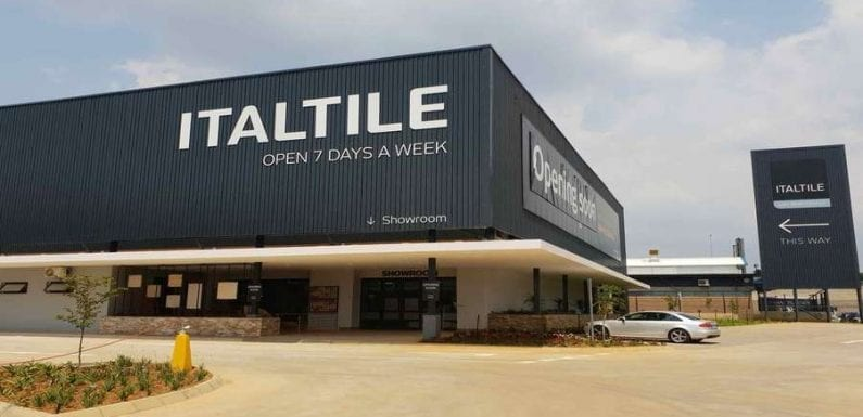 Italtile sells stake to Yard Investments Holdings to improve its BEE credentials