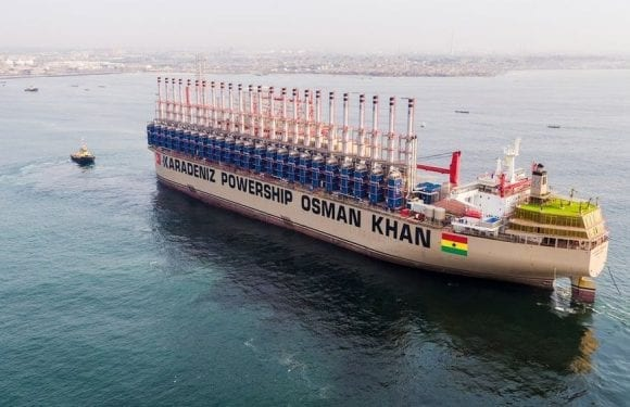Relocated Karpowership power production facility resumes operations