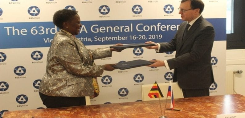 Uganda signs a deal with Russia to develop nuclear technology