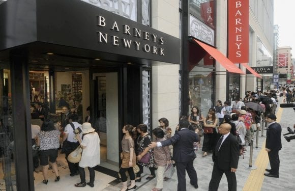 Authentic, B. Riley's US$271m buyout offer saves U.S. luxury department-store Barneys from winding down