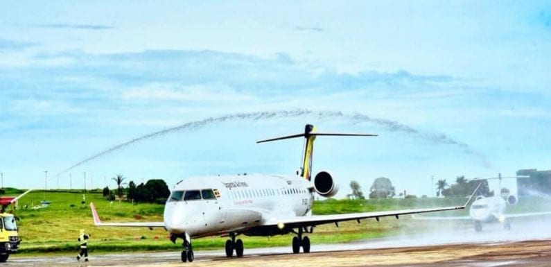 Uganda Airlines receives two Bombardier passenger planes in its revival plan