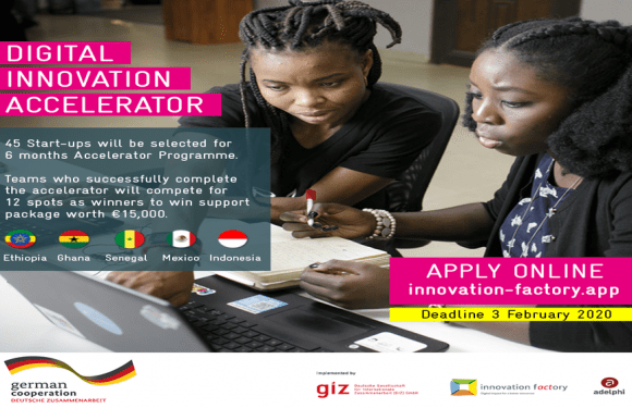 Innovation Factory launches accelerator program for digital startups in Ethiopia, Ghana, Indonesia, Mexico, & Senegal