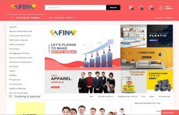 Safina launches inaugural e-commerce platform for Egyptian products
